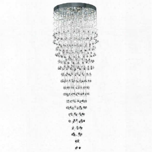 Elegant Lighting Galaxy 32 16 Light Elements Crystal Chandelier