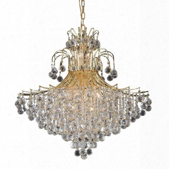 Elegant Lighting Toureg 31 15 Light Elements Crystal Chandelier