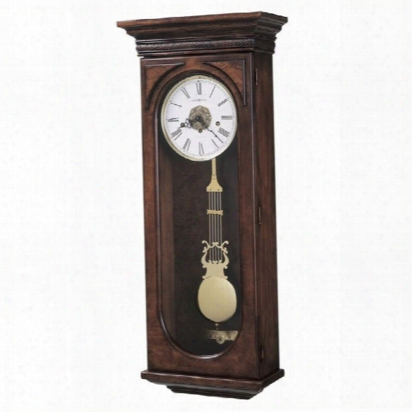 Howard Miller Earnest Key Wound Wall Clock