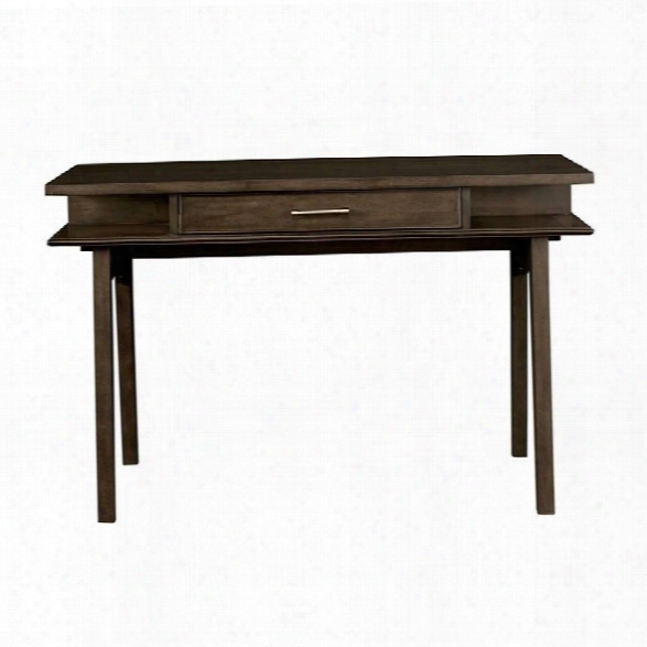 Stone & Leigh Chelsea Square Desk In Raisin