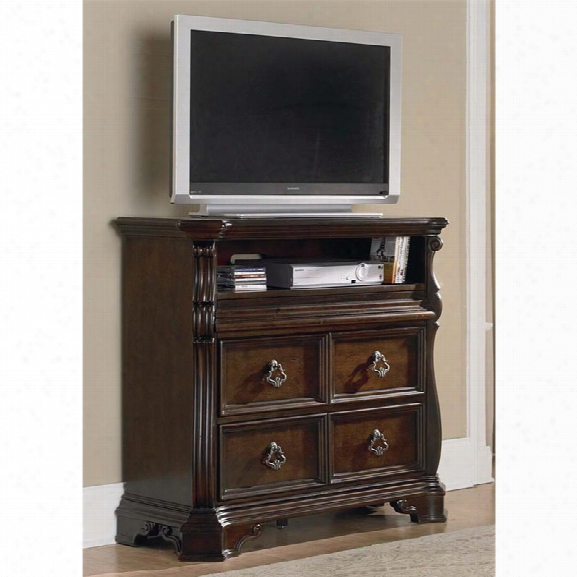 Liberty Furniture Arbor Place 2 Drawer Media Chest I Nbrownstone