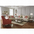 Ashley Sansimeon 3 Piece Sofa Set in Stone