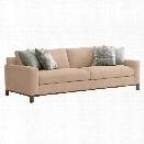 Lexington Shadow Play Chronicle Sofa in Textured Plain Yellow Gold