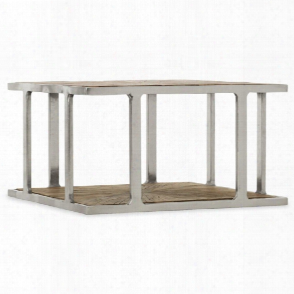 Hooker Furniture 35 Square Accent Coffee Table In Medium Wood
