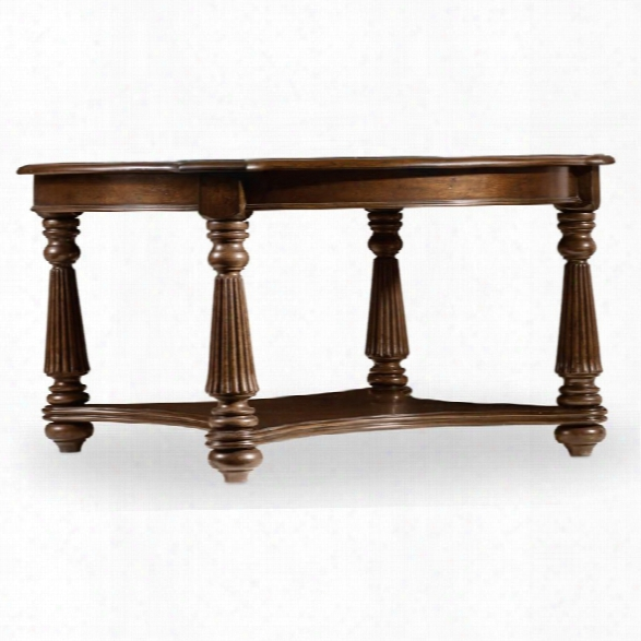 Hooker Furniture Leesburg Round Coffee Table In Mahogany