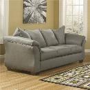 Flash Furniture Fabric Sofa in Cobblestone
