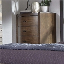 Liberty Furniture Avalon III 5 Drawer Chest in Pebble Brown