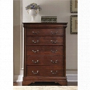 Liberty Furniture Carriage Court 6 Drawer Chest in Mahogany Stain