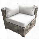 TKC Florence Corner Patio Chair in White