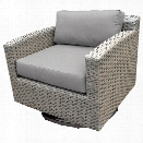 TKC Florence Patio Wicker Swivel Chair