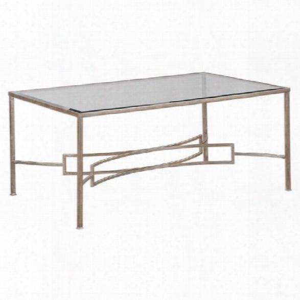 Uttermost Eilinora Silver Coffee Table