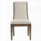 Stanley Furniture Panavista Madagascar Side Chair in Quicksilver