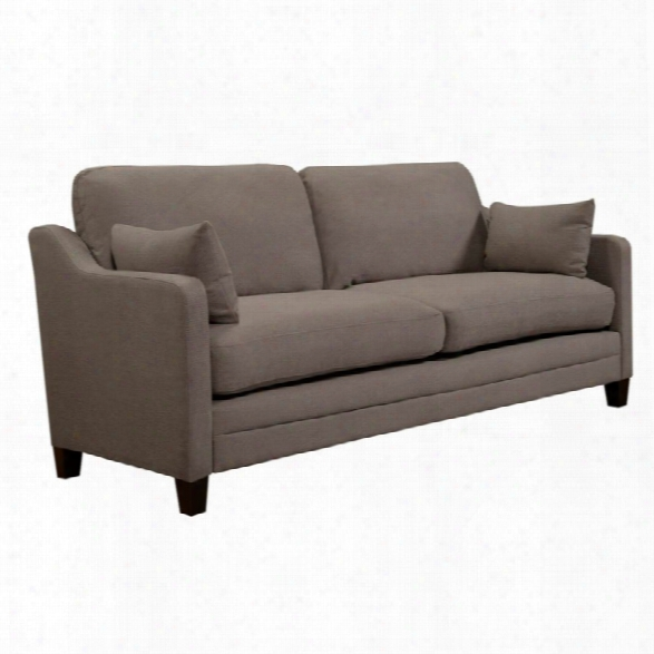 Serta At Home Carmina Chenille Sofa In Ash