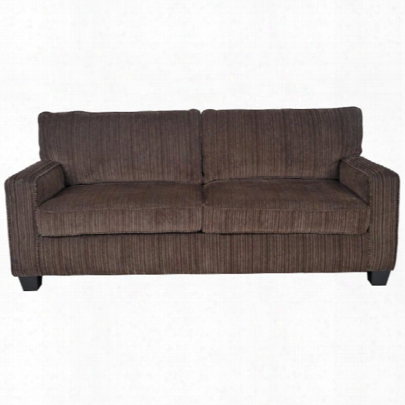Serta At Home Palisades 77 Deep Seating Sofa In Brown