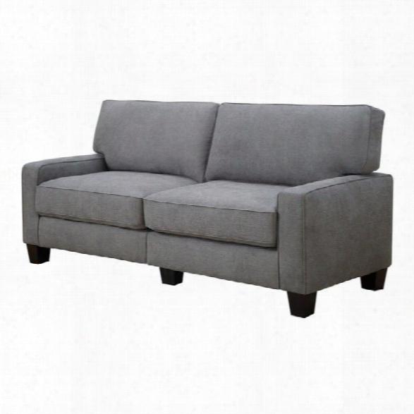 Serta Palisades Sofa In Glacial Gray