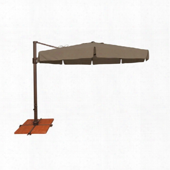 Simplyshade Bali Patio Umbrella In Taupe