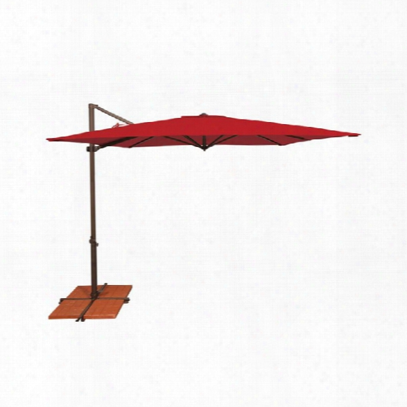 Simplyshade Skye Patio Umbrella In Jockey Red