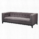 Moe's Pancini Sofa in Dark Gray