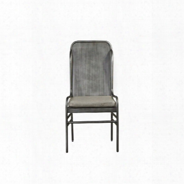 Universal Furniture Curated Academy Dining Chair In Graystone