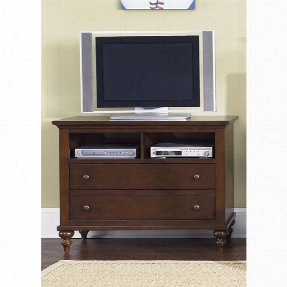 Liberty Furniture Abbott Ridge 2 Drawer Media Chest In Cinnamon
