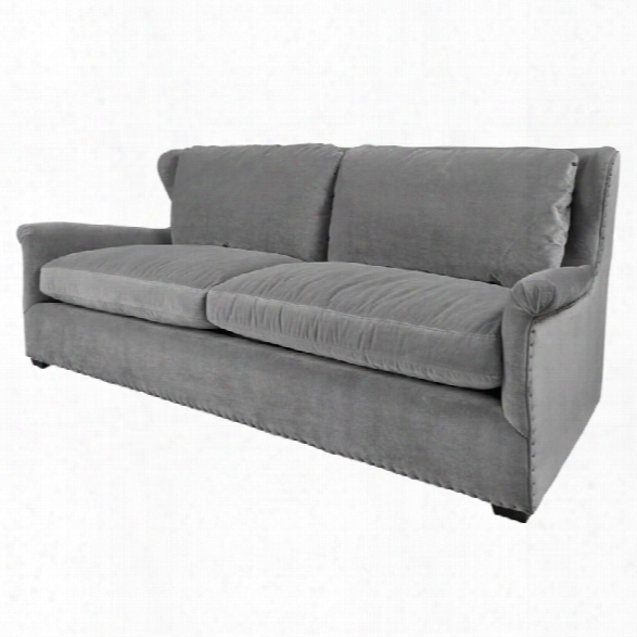 Universal Furniture Curated Haven Upholstered Sofa In Gray