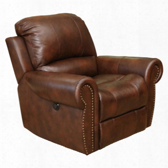 Abbyson Living Deermont Power Recliner In Brown