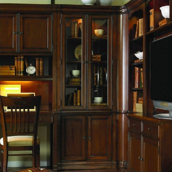 Hooker Furniture Cherry Creek 32 Wall Curio Cabinet
