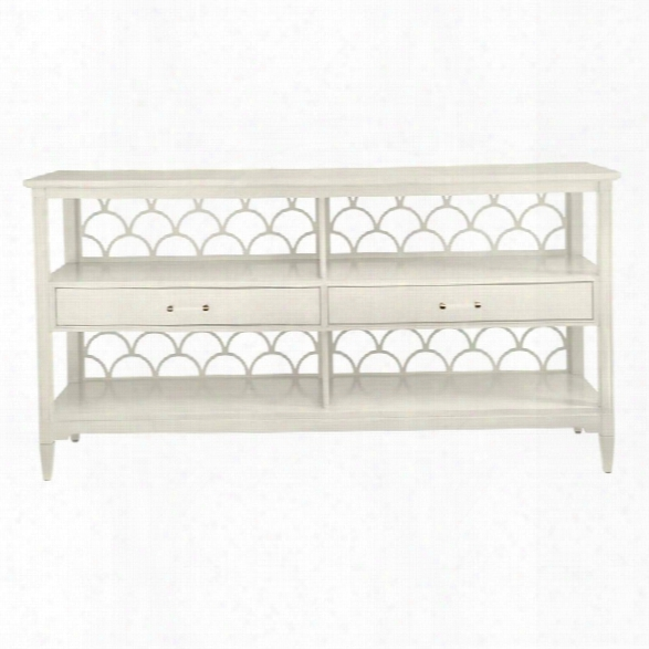 Coastal Living Oasis-sea Cloud Sideboard In Saltbox White