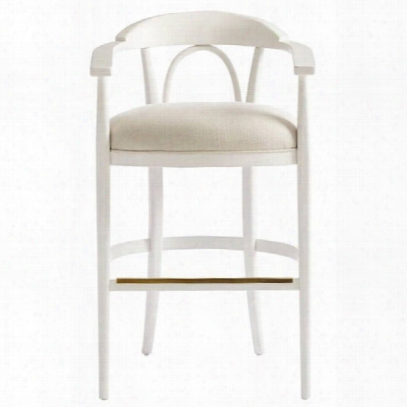 Stanley Furniture Panavista Studio Barstool In Alabwster