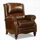 Hooker Furniture Clark Leather Recliner in Al Fresco Theatre