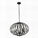 Z-Lite Moundou 5 Light Pendant in Bronze