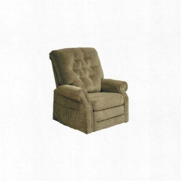 Catnapper Patriot Power Lift Full Lay-out Recliner In Celery