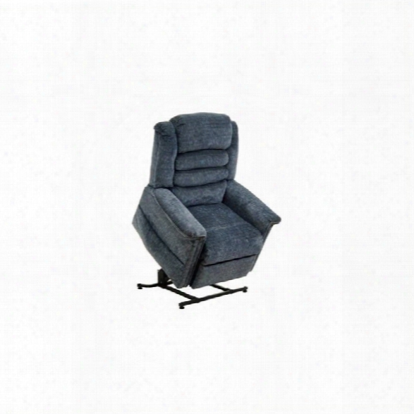 Catnapper Soother Power Lift Full Lay-out Chaise Recliner Chair In Galaxy