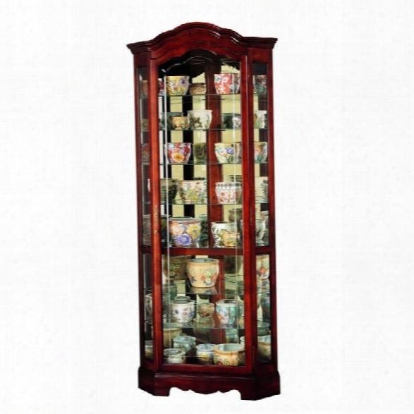 Howard Miller Jamestown Corner Display Curio Cabinet