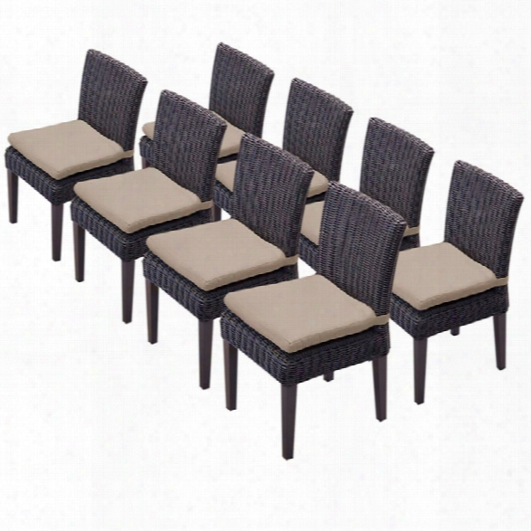 Tkc Venice Patio Dining Side Chair (set Of 8)
