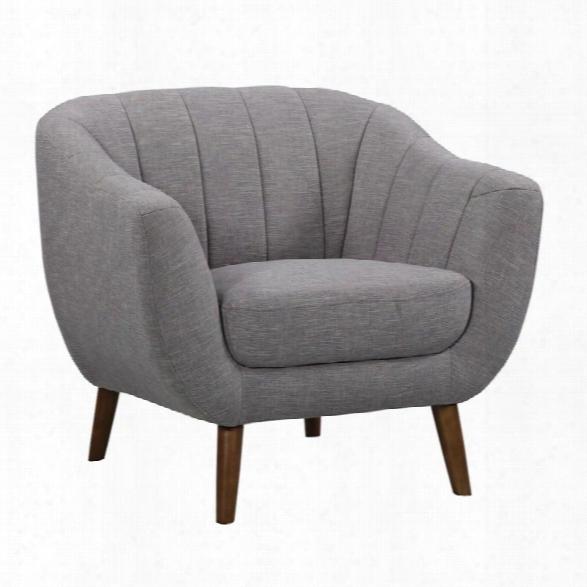 Armen Living Javeline Chair In Light Gray