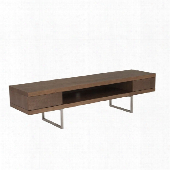 Eurostyle Miranda 63 Tv Stand In American Walnut