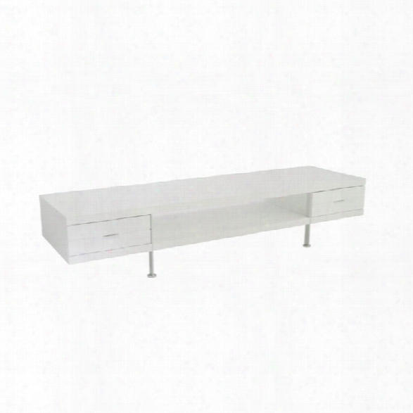 Eurostyle Simon 79 Tv Stand In White