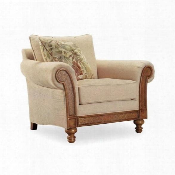 Hooker Furniture Windward Upholstered Chair In Dark Honey
