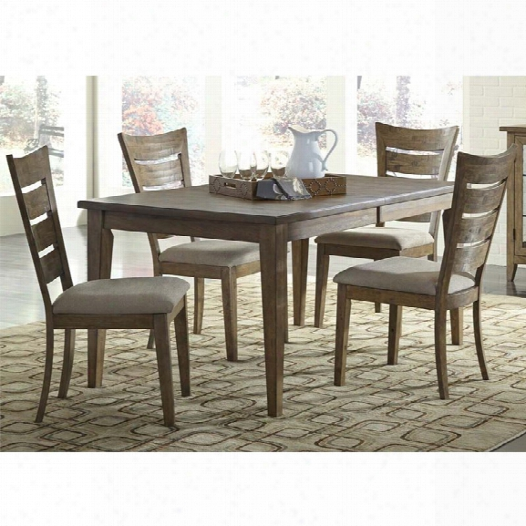 Liberty Furniture Pebble Creek I 5 Piece Dining Set In Butterscotch