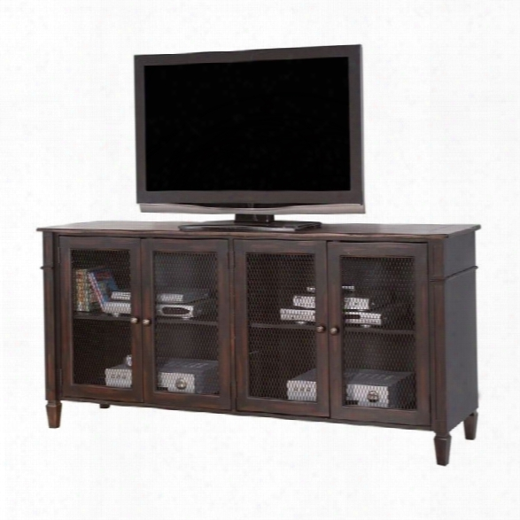 Martin Furniture Navarro 72 Tv Console In Clove And Auburn