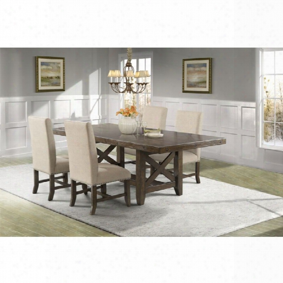 Picket House Furnishings Francis 5 Gun Dining Set