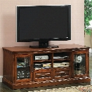 Furniture of America Stilton 72 TV Stand in Antique Oak