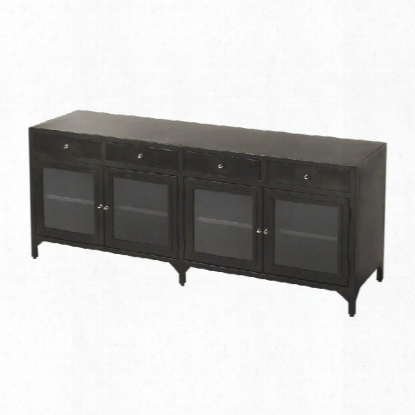Butler Specialty Industrial Chic Oscar Sideboard In Industrial Chic