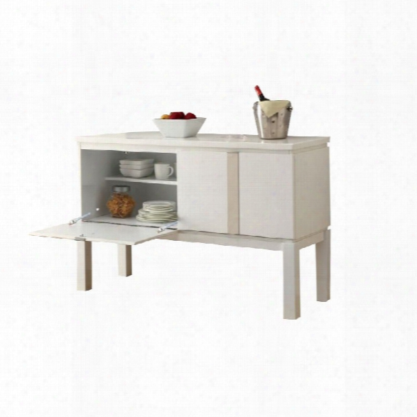 Furniture Of America Jules Sideboard In White