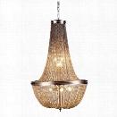 Elegant Lighting Paloma 21 6 Light Pendant Lamp