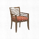 Tommy Bahama Ocean Club Pacifica Patio Dining Arm Chair in Sienna