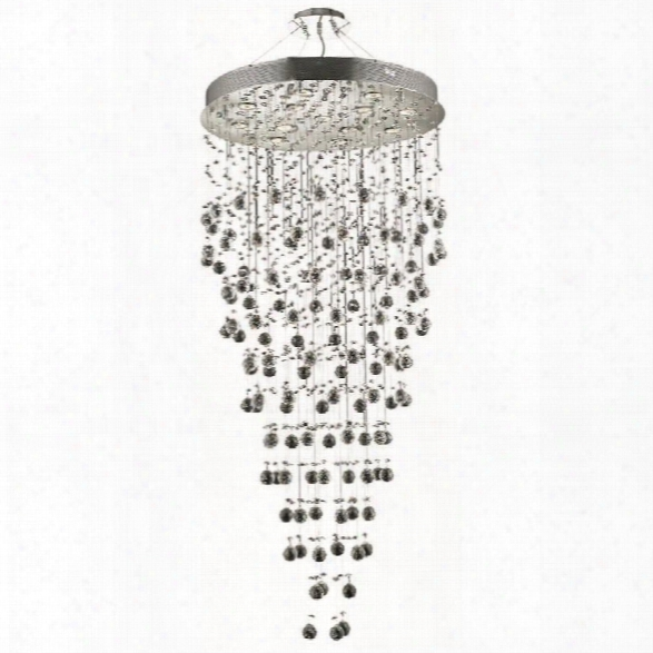 Elegant Lighting Galaxy 28 13 Light Elements Crystal Chandelier