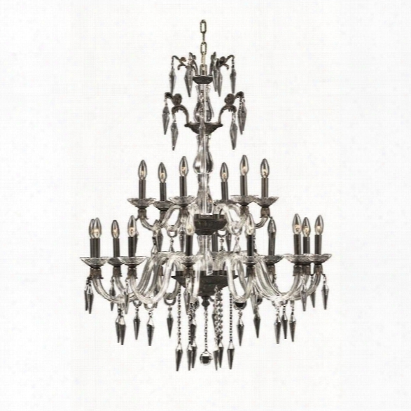 Elegant Lighting Grande 36 18 Light Elegant Crystal Chandelier
