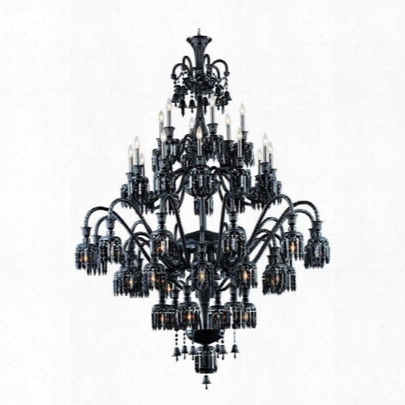 Elegant Lighting Majestic 60 48 Light Elegant Crystal Chandelier